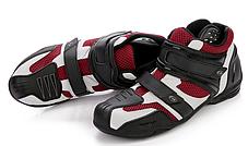 Красные дышащие защитные мото кроссовки ARCX, фото 3