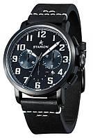Годинник STARION B724A.02 Black/Black чорний рем.