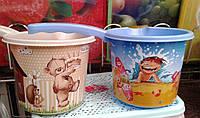 Ковшик с детским принтом, пластик. , фото 1
