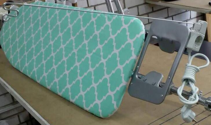 """Розетка + держатель провода для гладильной доски """"Русалка"""""""