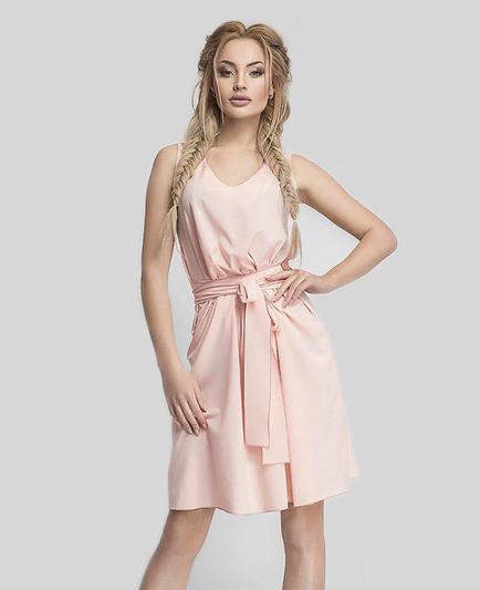 Платье женское короткое без рукавов (К22969)