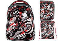 Набор школьный Kite(Рюкзак+сумка+пенал) Extreme K18-731M-1