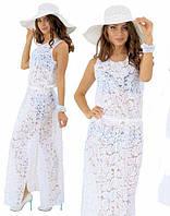 68ecaac103dcd22 Пляжное белое платье в категории платья женские в Украине. Сравнить ...