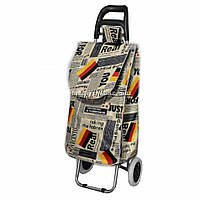 Дорожная сумка на колесах газета