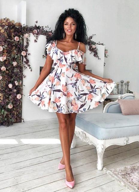b8618941323 Купить Легкое летнее платье на бретельках (К23172)  ...  в Украине