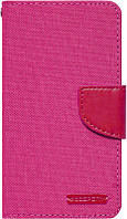 Чехол-книжка Goospery Canvas Diary Universal 4.0'-4.5' Hot Pink