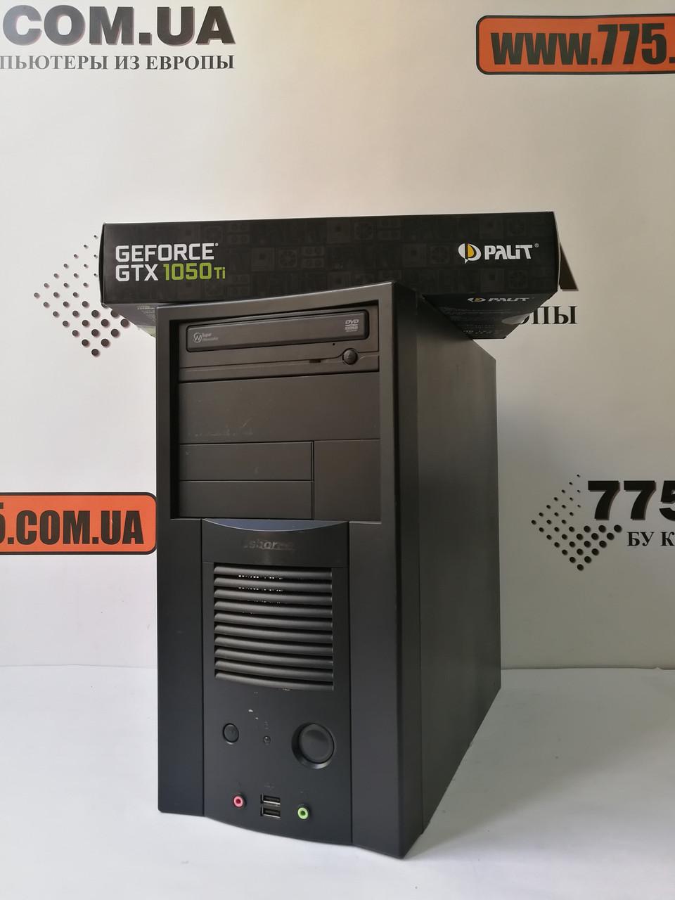 Игровой компьютер ATX Intel Core i7 3.8GHz, RAM 12ГБ, HDD 500ГБ, GeForce GTX 1050 Ti 4GB(новая), хит продаж!