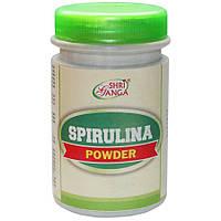 Спирулина, в порошке, источник натуральных витаминов и минералов, Spirulina (100gm)