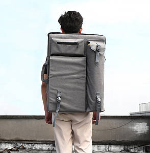 Сумка-ранец для художника,  мольберта, пленэра