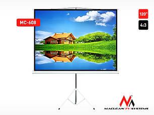 """Проекційний екран Maclean MC-608 120"""" 4:3, фото 3"""