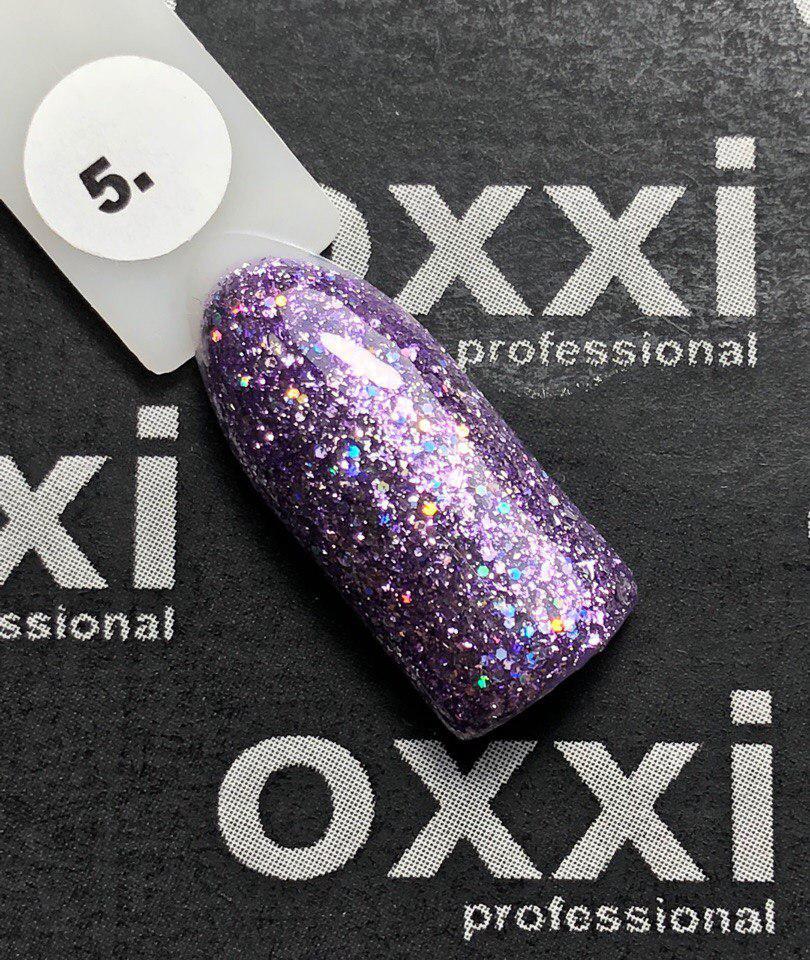 """Гель-лак OXXI Professional """"Star Gel"""" №5 (лиловый)"""