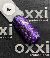"""Гель-лак OXXI Professional """"Star Gel"""" №6 (фиолетовый)"""