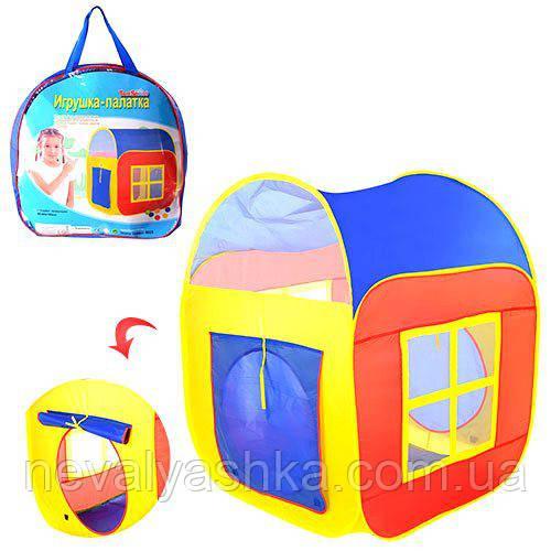 Палатка детская игровая Куб Квадратная Квадрат, M 1441, 008657