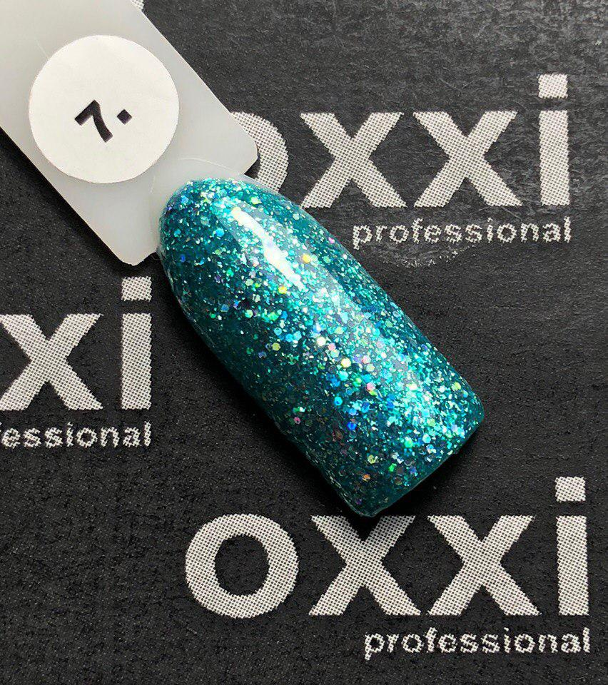 "Гель-лак OXXI Professional ""Star Gel"" №7 (зеленый)"