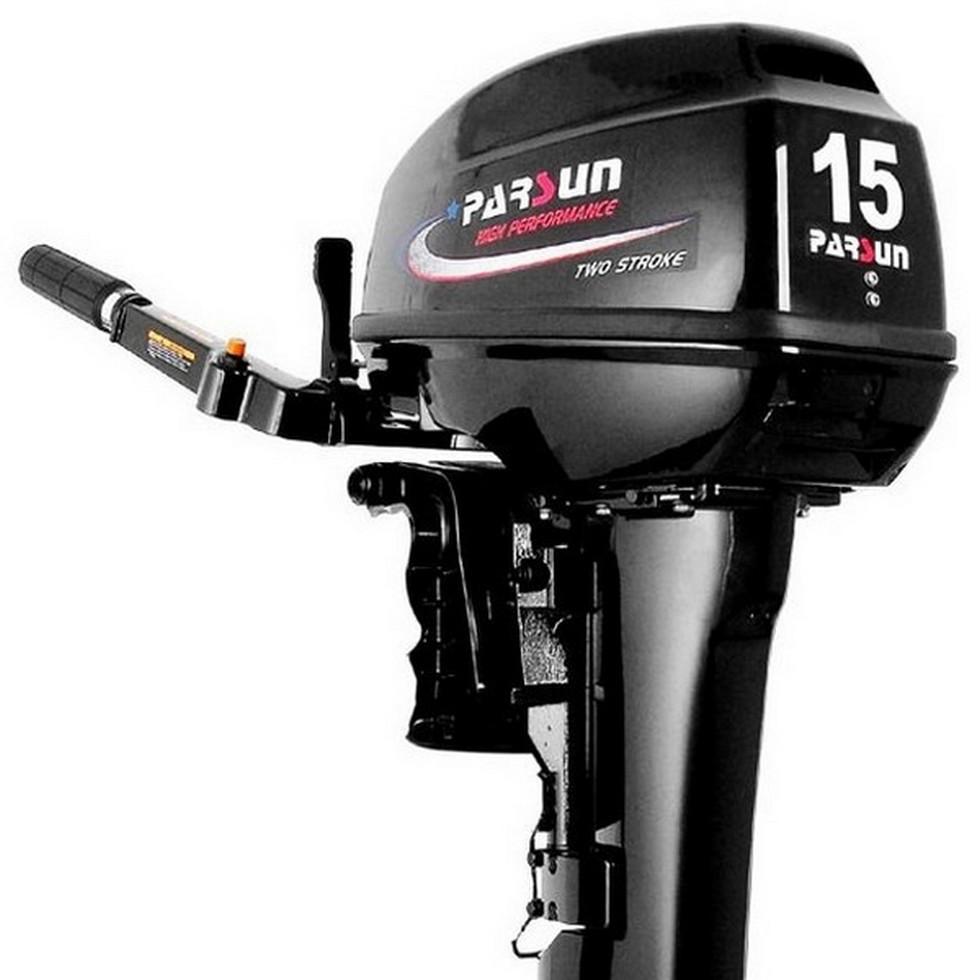 Лодочный мотор Parsun T15 BMS. Двухтактный;