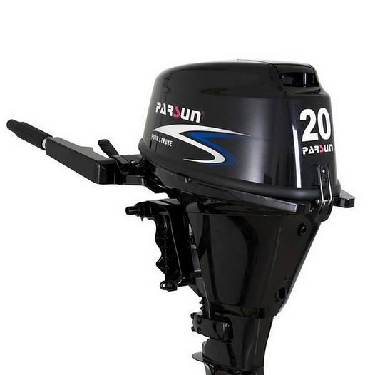 Лодочный мотор Parsun F20A BMS. Четырехтактный;