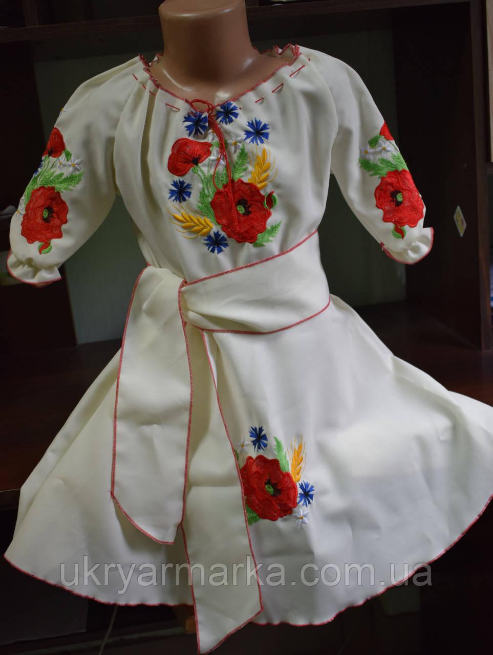 """Вишите плаття для дівчинки """"Оленка"""""""