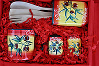 Подарок в коробке OLIVA Italiana подруге, Маме , День Рождения, новоселье