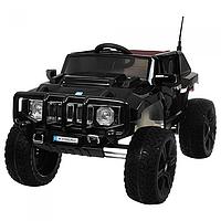 Детский электромобиль джип Hummer 3570 автопокраска черный