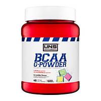 Аминокислоты ВСАА+глютамин UNS BCAA G-Powder (600 грамм)