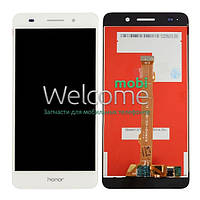 Дисплей Huawei Y6 II (CAM-L21),Honor 5A (CAM-AL00) with touchscreen white