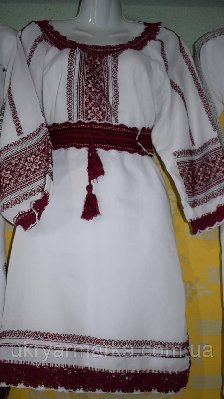 "Ексклюзивне вишите плаття ""Два кольори"" 1"