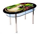 Стол стеклянный КС-6, фото 3