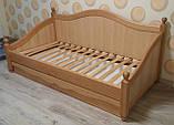 Дерев'яне ліжко Прованс-1, фото 4