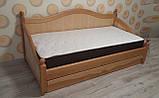 Дерев'яне ліжко Прованс-1, фото 6