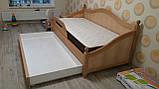 Дерев'яне ліжко Прованс-1, фото 7