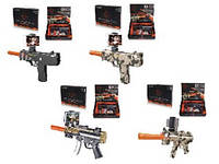 Автомат игрушечное оружие  AR GUN AR0754-1/2/3/4  5 видов в кор 33*6*24 см.