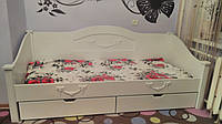 Деревянная кровать-тахта Барби