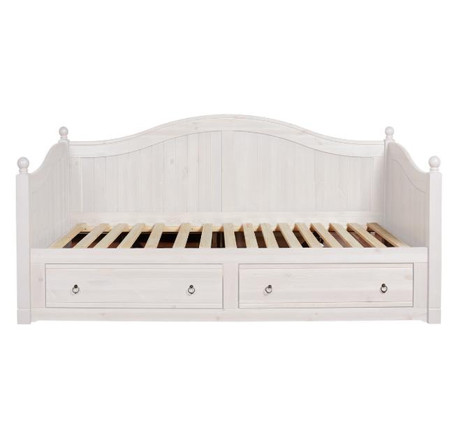 Дерев'яне ліжко Прованс-9