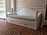Дерев'яне ліжко Прованс-12, фото 3