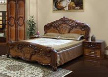 Двухспальная кровать Кармен Новая орех