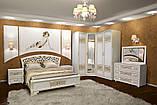 Двухспальная кровать Полина Новая, фото 2