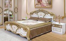 Двухспальная кровать Кармен Новая пино золото