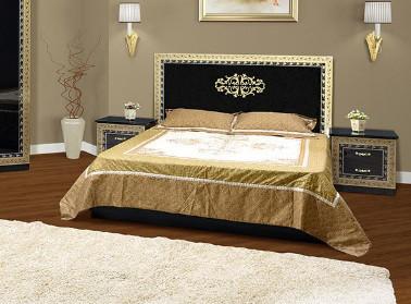 Двухспальная кровать СМ София черная