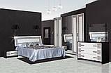 Двоспальне ліжко СМ Бася Нова (Олімпія), фото 2