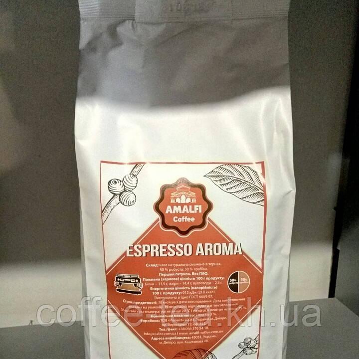 """Кофе зерновой Амалфи """"Aroma"""" 1кг."""