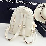 Рюкзак жіночий 4 в 1, набір (чорний), фото 5