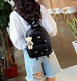 Рюкзак жіночий 4 в 1, набір (чорний), фото 4