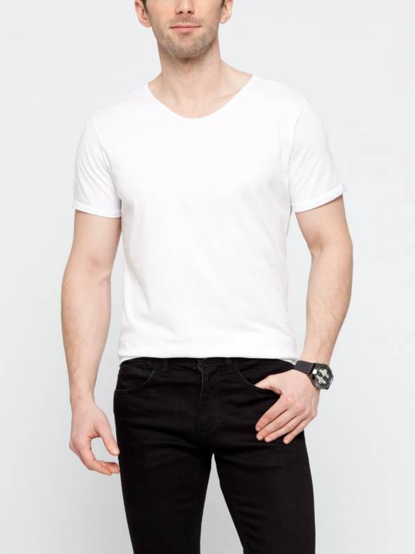 Белая мужская футболка LC Waikiki / ЛС Вайкики