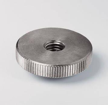 Нажимная гайка М4 DIN 467 из нержавеющей стали, фото 2