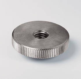 Нажимная гайка М4 DIN 467 из нержавеющей стали