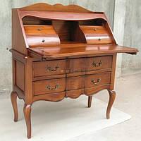 Старинный секретер бюро стол письменный витрина  буфет креденс сервант комод