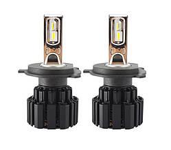 Светодиодная лампа цоколь H4, P9, CREE GSP 6000К, 13600 lm 50W, 9-36В
