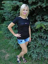 Женская футболка трикотажная копия