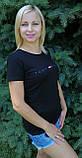 Женская футболка трикотажная копия, фото 2