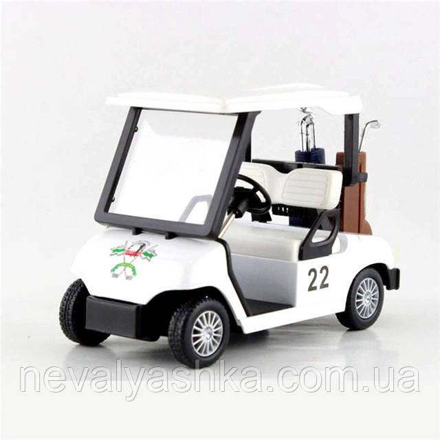 Kinsmart металлическая инерционная машинка Гольф Карт GOLF CART, Кинсмарт KS5105W 008669